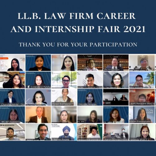 H&P attended the Law Firm Career and Internship Fair 2021 of Thammasat University